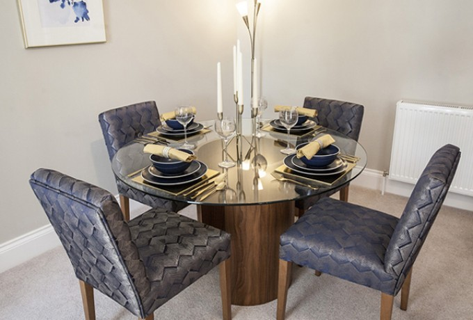 Chap Homes Over 55 Milltimber Chap Homes Woodland Grove Dining